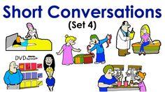 Short Conversations | Set 4 | Easy English Conversation Practice | ESL.