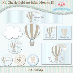 Kit Chá de Bebê no Balão III