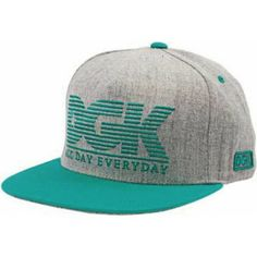 DGK City Snapback Hat - Grey Teal New Era Fitted 13c3eb1f681
