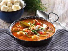 Szinte kötelező húsvéti program : Palócleves Dessert Recipes, Desserts, Thai Red Curry, Snacks, Ethnic Recipes, Table, Food, Tailgate Desserts, Deserts