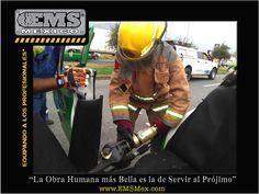 """#MotivatEMS """"La obra humana más bella, es la de servir al prójimo"""" Buena Guardia! Ánimo! ☺ #SoyEMS"""