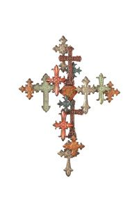 Crosses upon crosses... I have this in my living room. :)