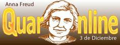 3 de Diciembre de 1895 nace Anna Freud, psicoanalista británica de origen austríaco (f. 1982). http://www.quaronline.com/