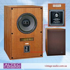 Altec Lansing, Audio Speakers, Loudspeaker, Audio Equipment, Vintage Ads, Horn, Vape, Catalog, Tech