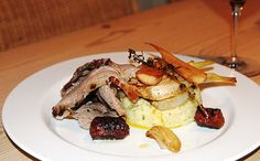 Roast lamb with braised fennel and mash. Find the recipe here: http://denmark.dk/en/lifestyle/food-drink/new-nordic-recipes/roast-lamb-with-braised-fennel-and-mash/