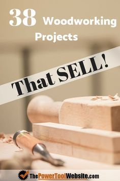 Beginner woodworking projects that sell great online. Easy wood projects you can build to make money. DIY projects for beginners that can turn your hobby into an money-maker. 38 Awesome wooden projects - links to free plans.