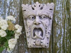 Green Man, Newbury Street, Keystone Leaf Face, Greenman, Garden Art,  Renaissance Element, Medieval Sculpture, Gothic Boston, Chalifour | Green  Man, ...