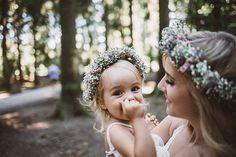 Blumenkranz, Mutter und Tochter Shooting, Mummy and Mini