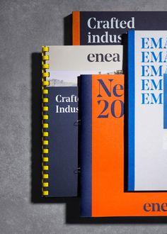 Enea by Clase bcn, Spain. #branding #brochures