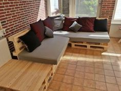lounge sofa chill out area paletten sofa inkl sitzauflagen haus pinterest lounges. Black Bedroom Furniture Sets. Home Design Ideas