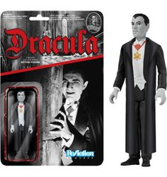 "Universal Monsters - Dracula ReAction 3.75"" Action Figure (Series 1)"