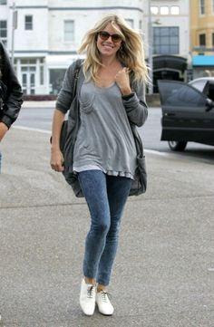 Sienna Miller wearing jeggings