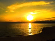 Sunrise at Canigao Island