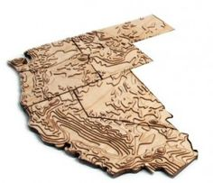 Product of geography: rompicapi topografici