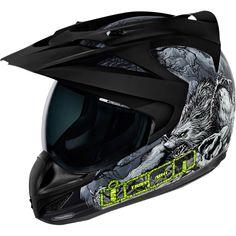 Sale on New Icon Thriller Men's Variant Street Bike Motorcycle Helmet 2015 - Motorhelmets