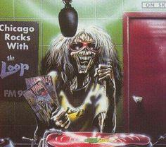 Heavy Metal Art, Heavy Metal Bands, Woodstock, Rock Bands, Hard Rock, Iron Maiden Mascot, Iron Maiden Posters, Eddie The Head, Metallica Art