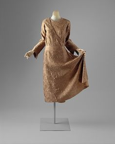 Afternoon Ensemble: Dress, House of Worth 1924, French, Made of silk