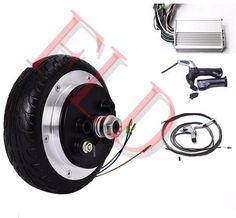 "6"" 36V 250W electric 2 wheel scooter  hub motor kit    electric scooter motor kit    electric skateboard conversion kit"