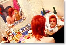 bowie putting on makeup - Google Search