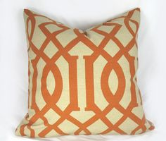Imperial Trellis  Decorative Pillow Cushion Cover  by kLuxdeco, $42.00