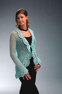 Cut-Away Cardi - Free Crochet Patternby Lisa Gonzales - Ravelry