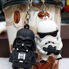 Star Wars Charms Pendentifs émail métal R2D2 Yoda Dark vador storm trooper Luke