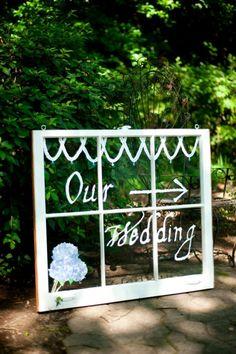 Our Wedding Window $250.00