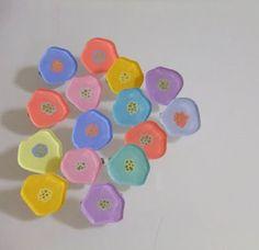 FLOWERS INSPIRATION - プラバン ブローチ - Google 検索