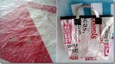 Ecobag com Sacolas Plásticas