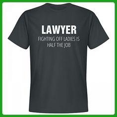 Funny Lawyer Fighting Off Ladies: Unisex Next Level Premium T-Shirt - Careers professions shirts (*Amazon Partner-Link)