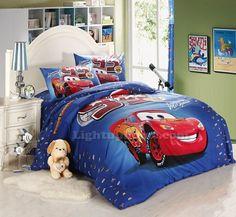 Lightning McQueen Car Bedding