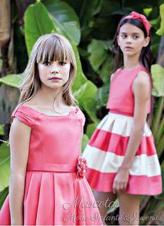 Tienda Moda Mascotas infantil y juvenil   #amayaceremonia #ceremonia2018 #ceremonia #vestidoceremonia #niña #arras218 #arras #arras2018 #nuevacolecciónceremonia2018 #nuevacolección #2018 #modainfantil #modajuvenil #fiesta #boda #comunión #niño Girls Party Dress, Baby Dress, Tween Girls, Frocks, Flower Girl Dresses, Girls Dresses, Pretty Girls, Look, Girl Fashion