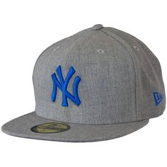 New Era Seasonal Contrast Cap MLB NY Yankees heathergrey/blue ★★★★★