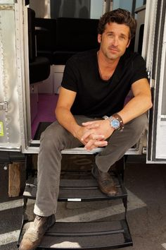 Patrick Dempsey = THE PERFECT MAN! 2012 photo jeff berlin x glamper