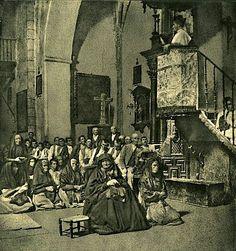 JOSÉ ORTIZ ECHAGÜE Sermón en la aldea (1903)
