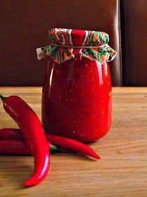 Ostrá omáčka z paprik ke grilovanému nebo pečenému masu Ostrá omáčka z paprik ke grilovanému, pečenému masu. Kdo si vychutná maso s o...