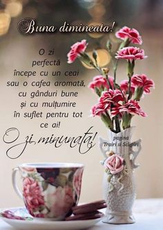 Ai grija de tine!😊😘 Coffee Flower, Phonetic Alphabet, Good Morning Quotes, Facebook, Morning Coffee, Happy Birthday, Inspirational Quotes, Messages, Tableware