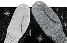 Classic Mittens Pattern #615 adult sizes