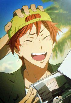 Im screaaaaaming i love this boi Momotarou Mikoshiba, Makoharu, Otaku, Swimming Anime, Splash Free, Free Eternal Summer, Free Iwatobi Swim Club, Kyoto Animation, Free Anime