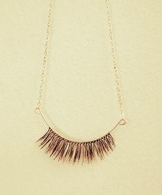 Eyelash pendant