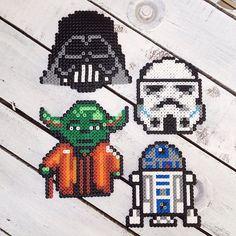 Star Wars hama beads by dassommersprossenmaedchen