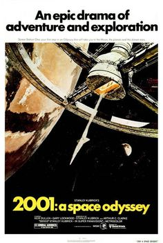 55. 2001: A Space Odyssey (1968) - The 75 Most Iconic Movie Posters of All Time | Complex UK