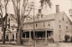 Have you heard the tale of the ghost at the haunted Kennebunk Inn.  #haunted #ghosts   Photo Courtesy of the Brick Store Museum