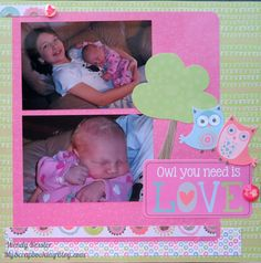 Owl You Need is LOVE | My Scrapbooking Blog