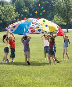 Loving this Super Parachute on #zulily! #zulilyfinds  Didn't you always want one of these when you were a kid?