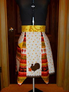 Vintage Style Thanksgiving Apron! on Etsy, $20.00. SOLD