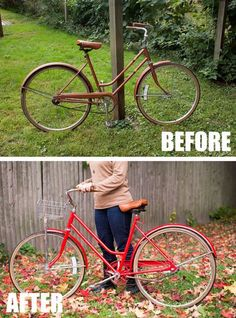 The best way to spray paint a bike