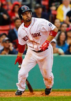 Boston Red Sox Right Fielder, Shane Victorino