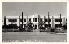 Tombstone Union High School. I was in the class of 1989 my mom was in the class of 1960.