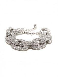 Original Pavé Links Bracelet. Courtney Kerr collection. Love love love